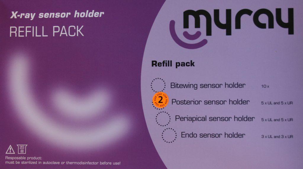 myray posterior sensor holder